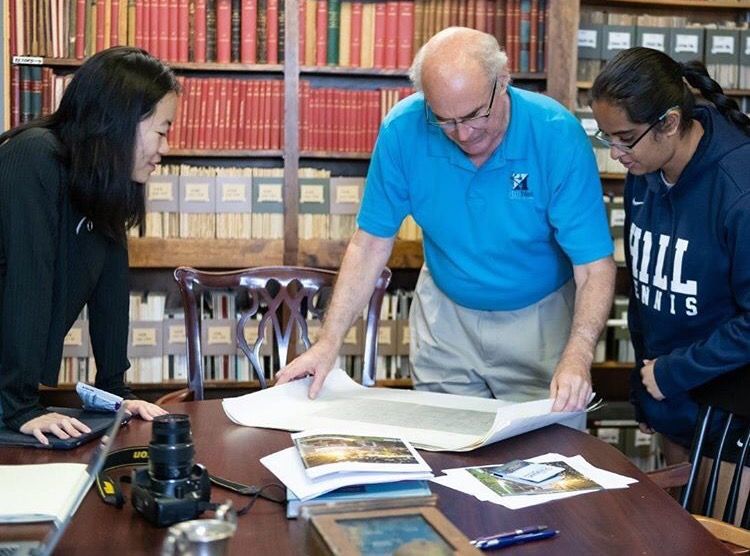 Hill scholars unearth wealth of archival history