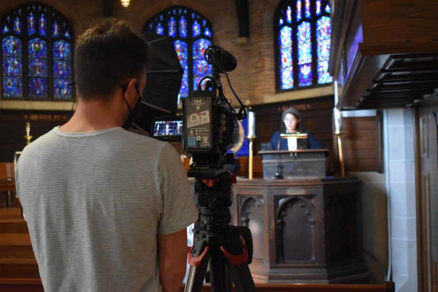 Chapel Talks undergo a virtual transformation
